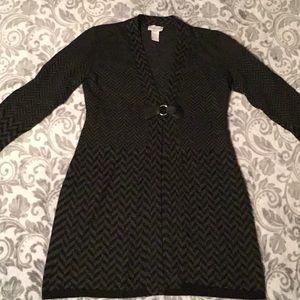 Soft Surroundings size M long cardigan